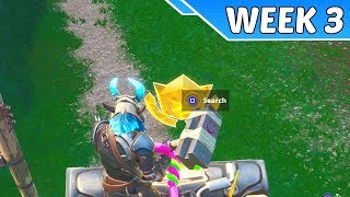 Temporada secreta 9 semana 3 Battlestar guia de localização (desafios utopia)-Battle Royale Fortnite