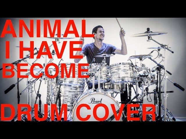 Animal I Have Become - Drum Cover - Three Days Grace (NEW KIT!)