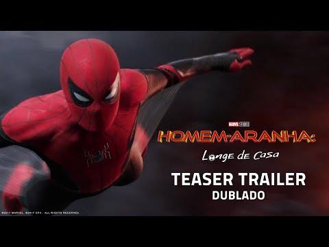Homem-Aranha: Longe de Casa | Teaser Trailer Internacional  | DUB | 04 de julho nos cinemas