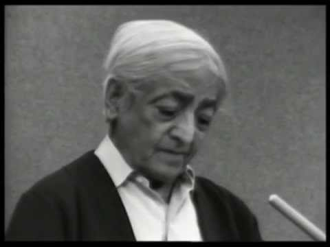 On the relationship between thought and consciousness | J. Krishnamurti