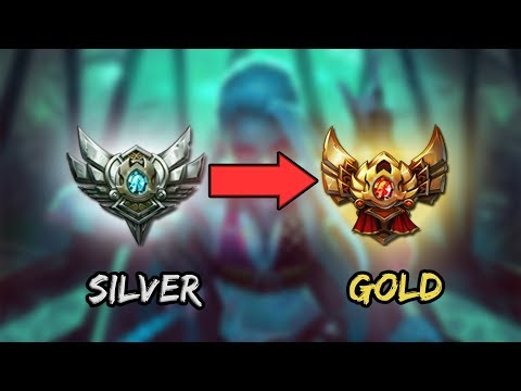 SILVER TO GOLD LEAGUE OF LEGENDS (MONTAGE)