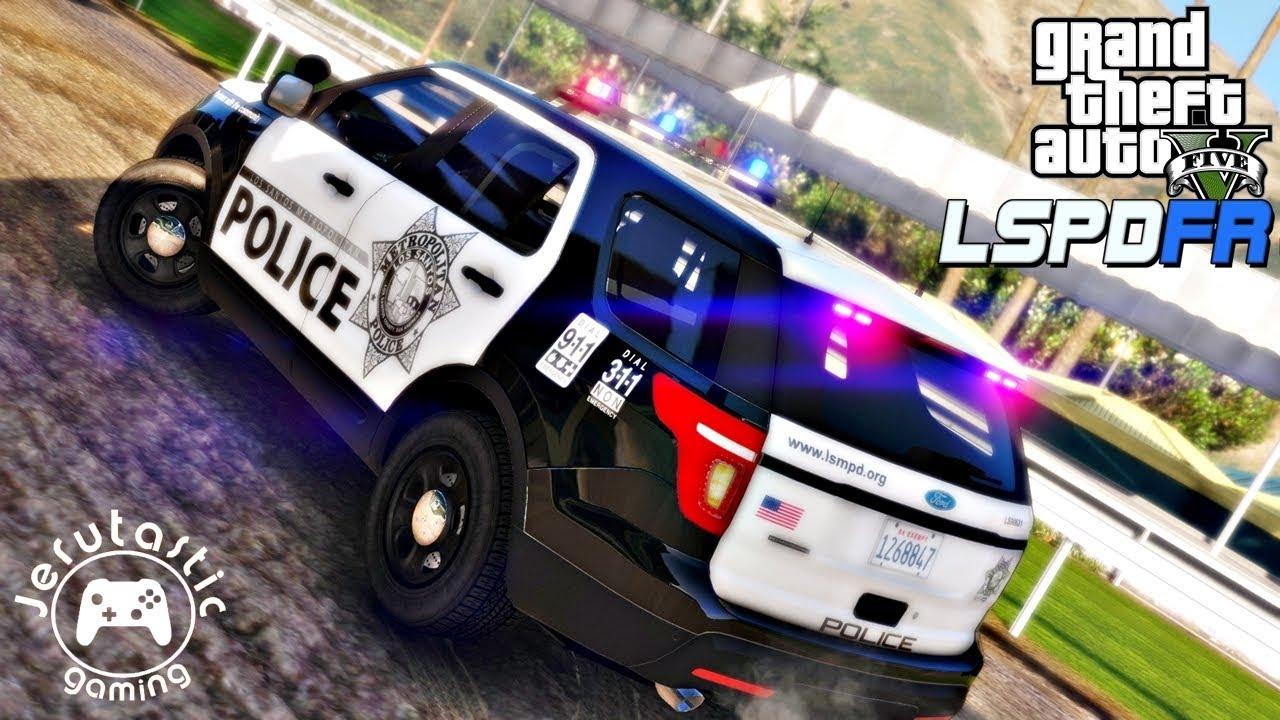 GTA 5 MODS LSPDFR #38- LAS VEGAS METRO POLICE - (GTA 5 POLICE MOD)
