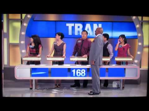 Family Feud - BEST EPISODE EVER - Tran Family from YouTube · Duration:  19 minutes 12 seconds