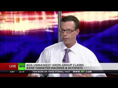 Anonymous reveals Bank of America secrets