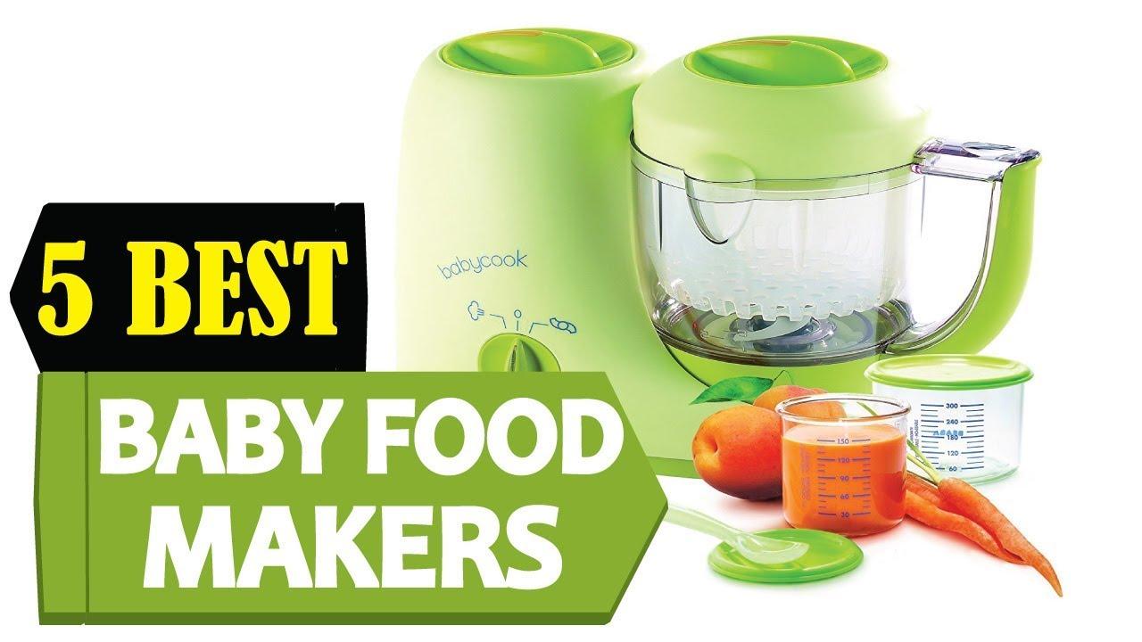 5 Best Baby Food Makers 2018 Best Baby Food Maker Reviews Top 5 Baby Food Maker