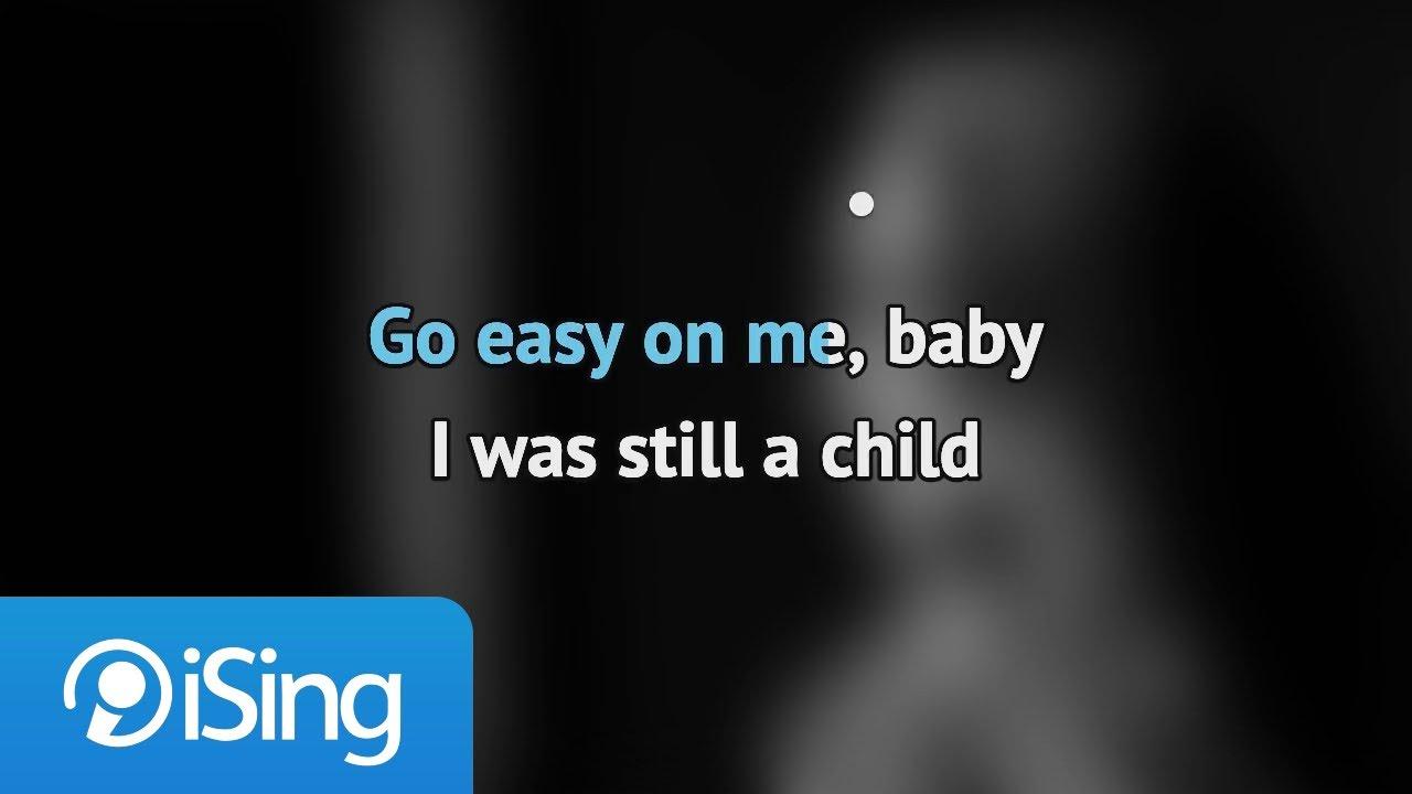 Adele - Easy On Me (karaoke iSing)