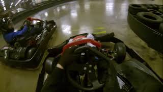 Go Karting at Team Sport Bristol, Avonmouth via a Go Pro Hero 3 BE.
