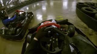 Go Karting at Team Sport Bristol, Avonmouth via a Go Pro Hero 3 BE.