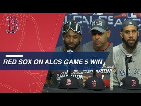 ALCS Gm5: Bradley, Cora and Price on ALCS win