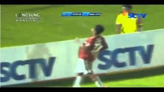 highlights uji coba PERSIB vs BALI UNITED  13 february 2016