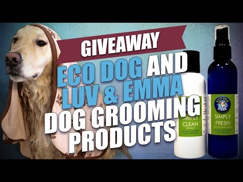 GIVEAWAY: Eco Dog and Luv & Emma Dog Grooming Products