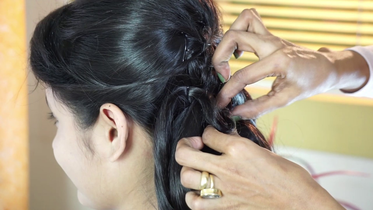 Western Hair Styles: Best Party Hair Style Fashion