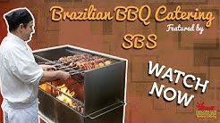 Brazilian BBQ Catering Featured by SBS