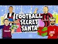 🎁⚽️FOOTBALL SECRET SANTA 2018⚽️🎁 (Parody feat. Zlatan Messi Ronaldo Neymar Salah and more!)