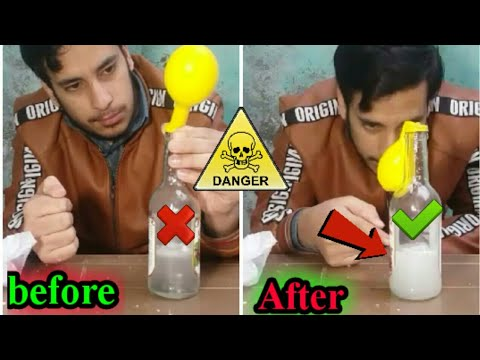 How to make Hydrogen gas at home | very easy process
