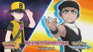Pokemon Sun and Moon: Trainer Bro Vs CharlieDawg (Pokemon Collab)
