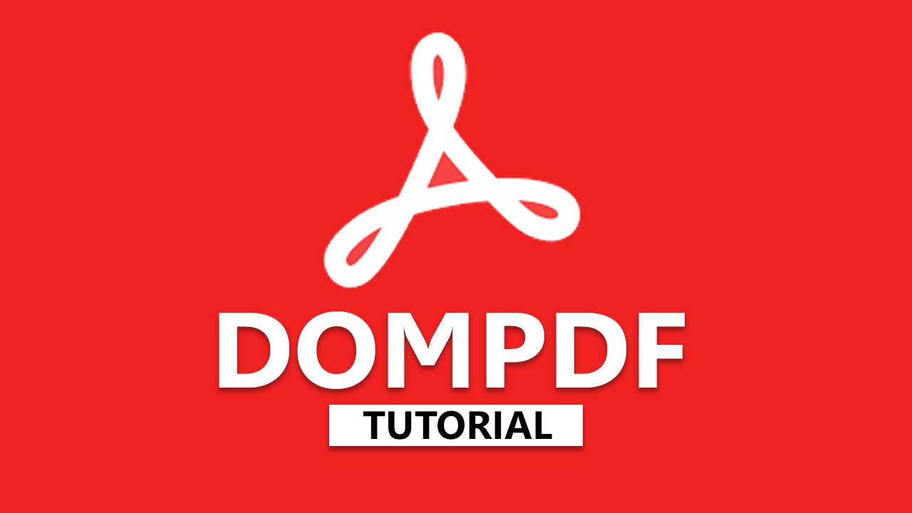 How to convert html to pdf by using dompdf in php youtube.