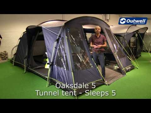 Outwell Oaksdale 5 Tent | Innovative Family Camping
