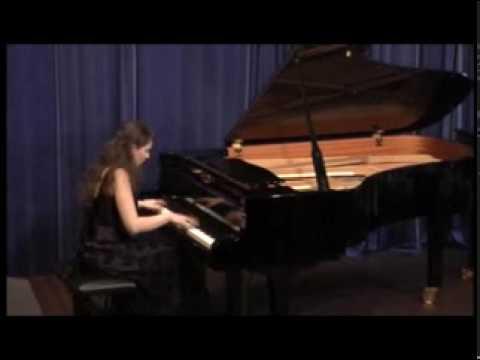 Anastasia Seifetdinova plays Chopin Sonata in B Minor, op.58 Allergo maestoso (1/4)