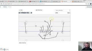 Football Play Outline 517