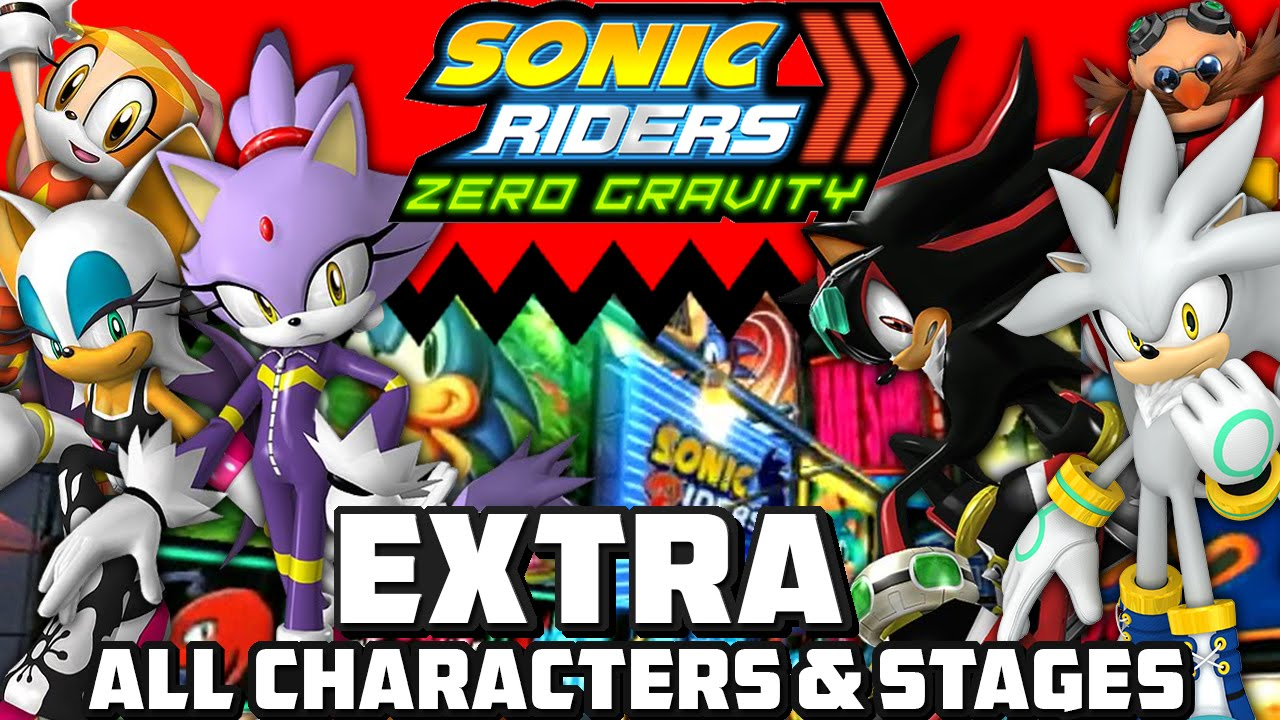 Blaze The Cat Sonic Riders Zero Gravity