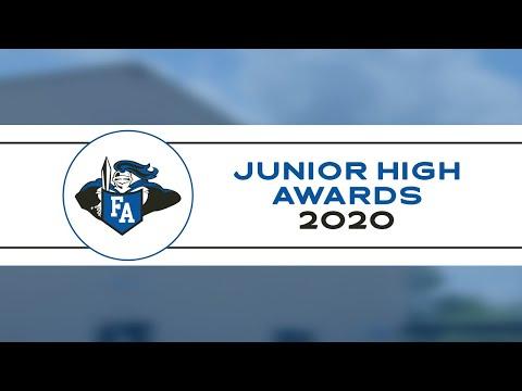 2020 Junior High Awards - Faith Academy of Bellville