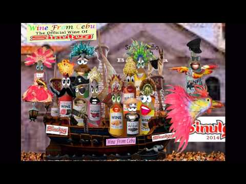 "2014 Sinulog Festival!!!  Wine From Cebu  ""The Official Wine of Sinulog"""