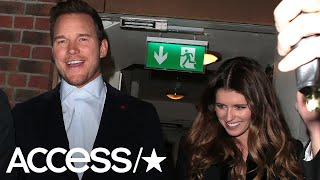 Chris Pratt & Katherine Schwarzenegger Look In Love In London! | Access