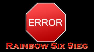 Rainbow Six Siege stürzt ab ohne Fehlermeldung - Hilfe Video