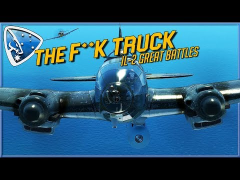 IL-2 Great Battles: The F**k Truck | He 111 Multicrew Multiplayer