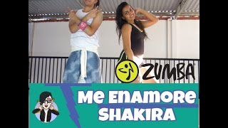 Me Enamore - Shakira - ZUMBA - Coreografia  Emanuel Lima Oficial