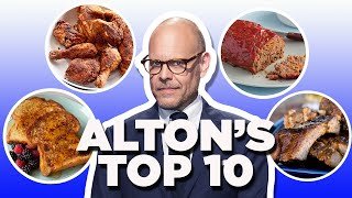 Alton Brown's Top 10 Recipe Videos | Food Network