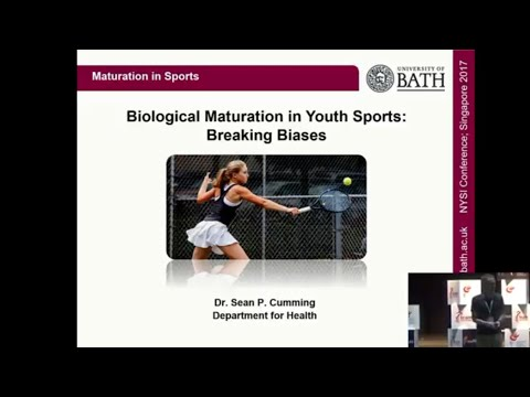 Dr Sean Cumming | Biological Maturation in Youth Sports: Breaking Biases