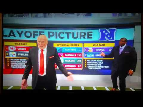 Terry Bradshaw walks off live set NFL 1-03-2016