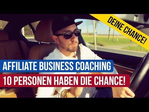 Affiliate Business Coaching - Deine Chance! (Geld verdienen als Affiliate)