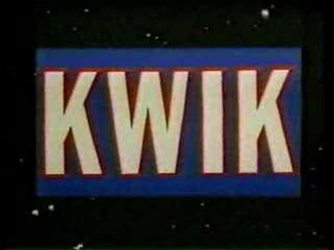 KWIK Radio Pocatello, Idaho 1984 TV Commercial