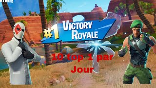 how many top 1 easily fortnite BATTLE Royale