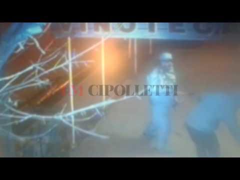 Así intentaron robar una vinoteca en Cipolletti