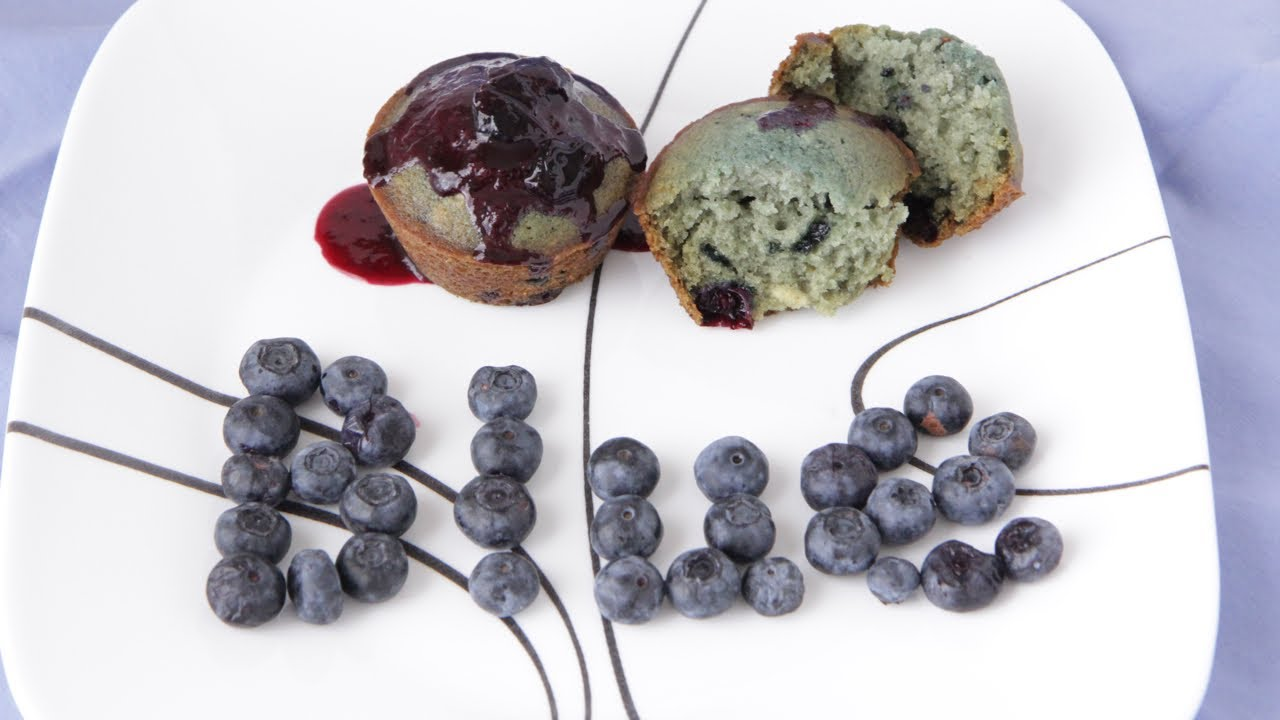 Natural Blue Food Color - Blueberry Simple Syrup - YouTube
