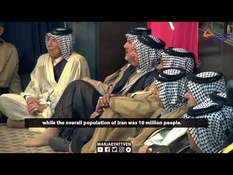 Tribal Chiefs from Holy Karbala Meet Grand Ayatollah Shirazi