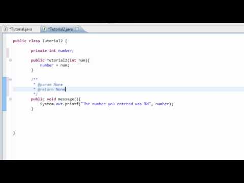 Intro to Java Programming 24 - Commenting