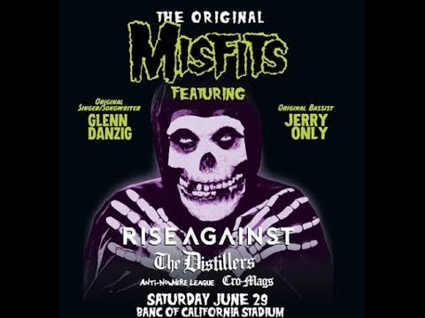 The Original Misfits to play in Los Angeles w/ Rise Against, The Distillers, Cro-Mags and more!