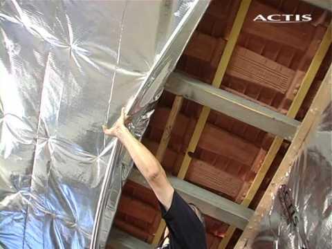 Actis - isolamento del tetto dall'interno