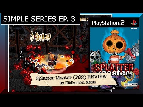 Splatter Master (PS2) REVIEW - The Simple Series Ep.3 - HM
