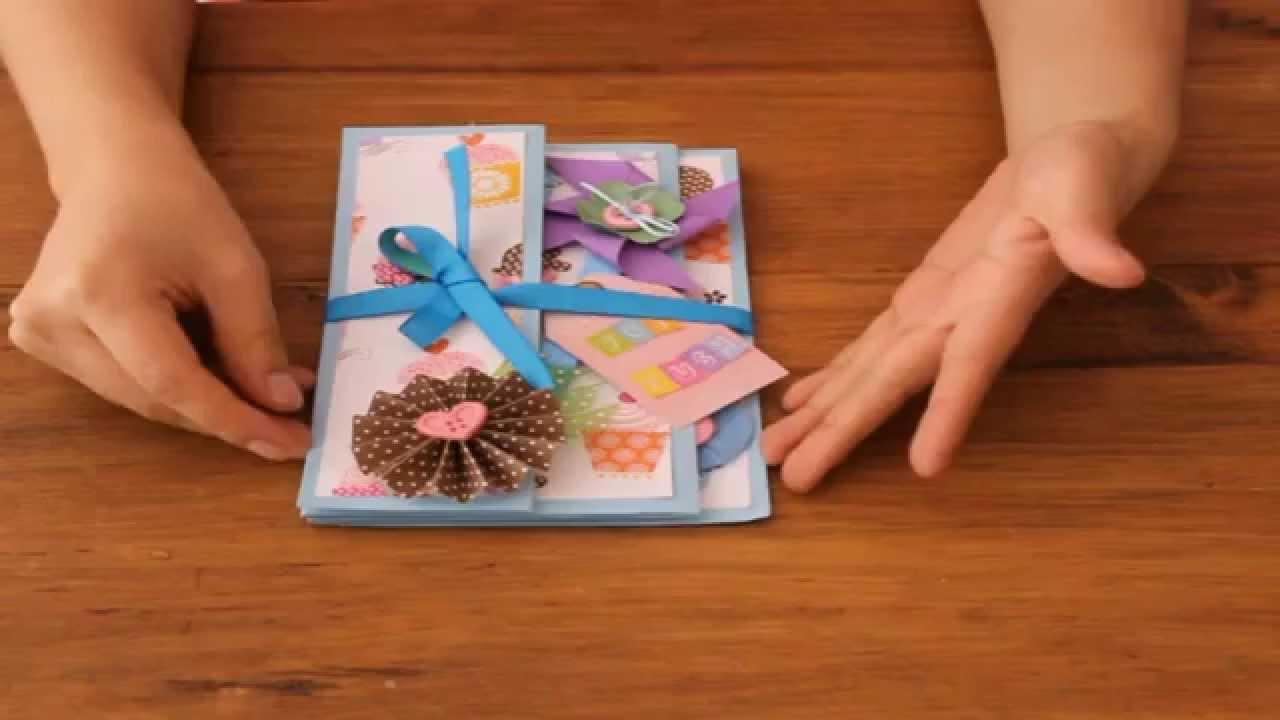 Tarjeta de cumpleaños+detalle video petición YouTube
