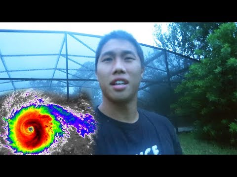 HURRICANE IRMA IS HERE! (LIVE FOOTAGE FROM HOME)