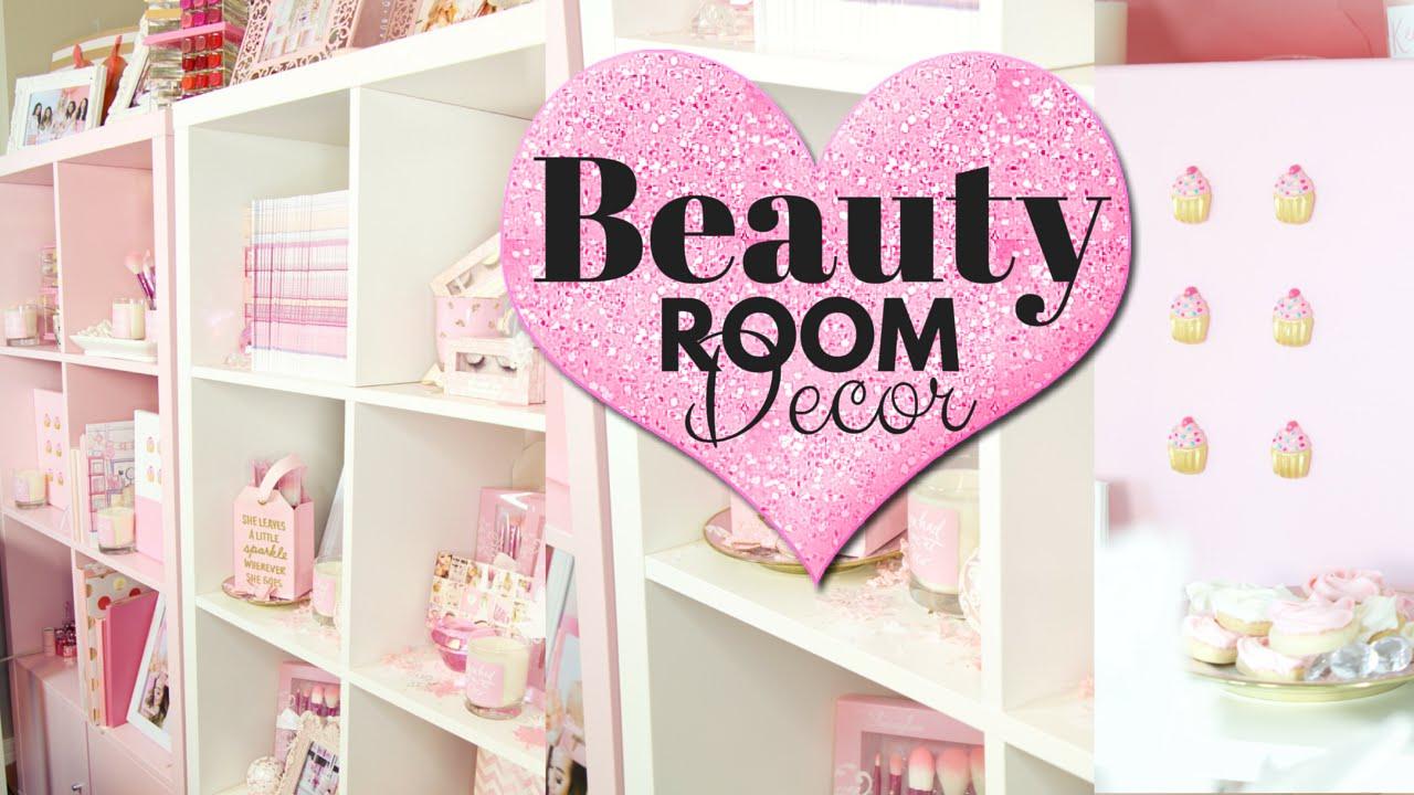 Beauty Room Decor How I Style My Wall Shelves Slmissglam You