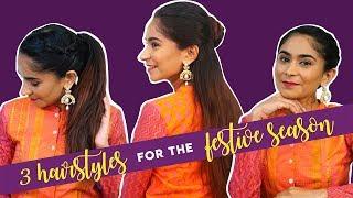 3 Easy Hairstyles For The Festive Season | Hauterfly