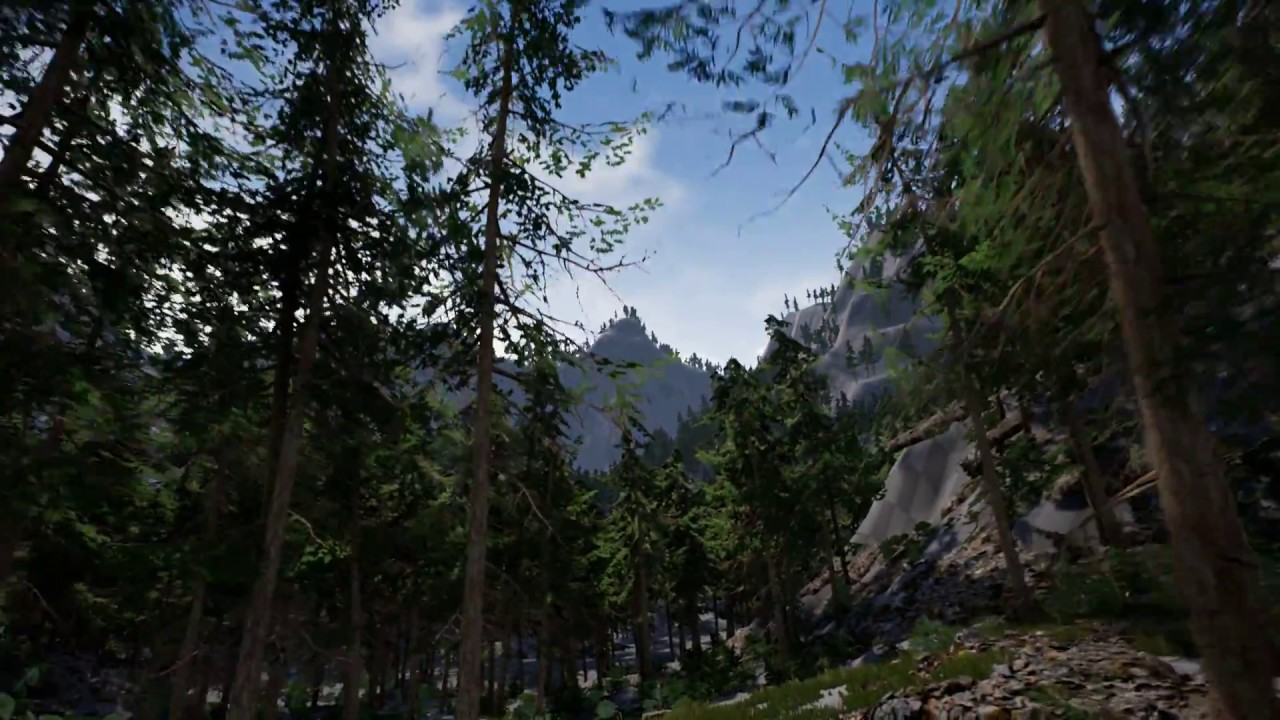 Download Unreal Engine 4 - Tree test
