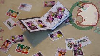Как сделать фотоальбом для куклы. How to make photoalbum for doll with photos.(, 2014-02-17T18:03:05.000Z)
